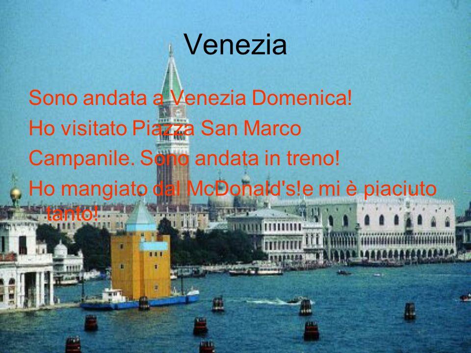 Venezia Sono andata a Venezia Domenica! Ho visitato Piazza San Marco