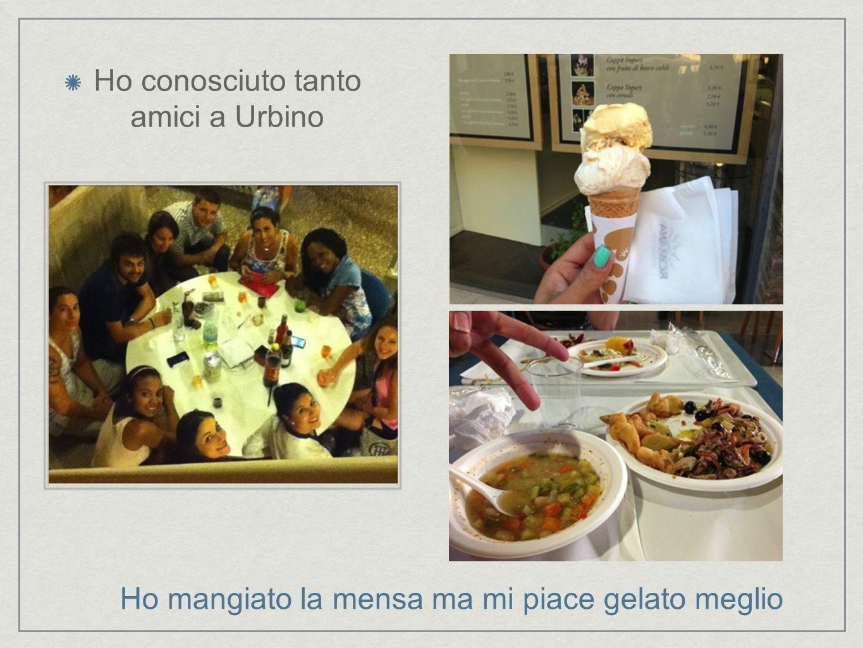 Ho conosciuto tanto amici a Urbino
