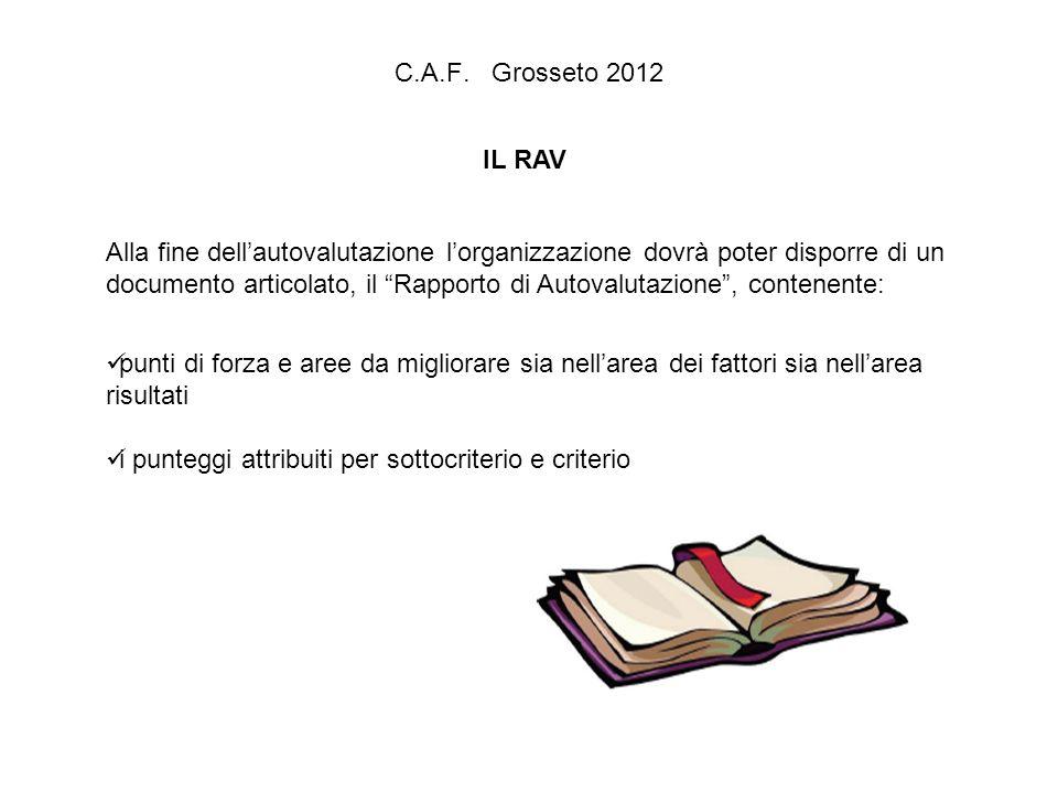 C.A.F. Grosseto 2012 IL RAV.