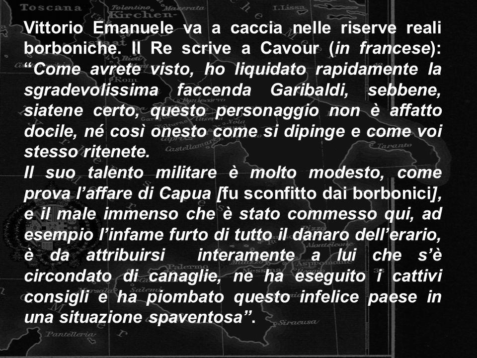 Vittorio Emanuele va a caccia nelle riserve reali borboniche