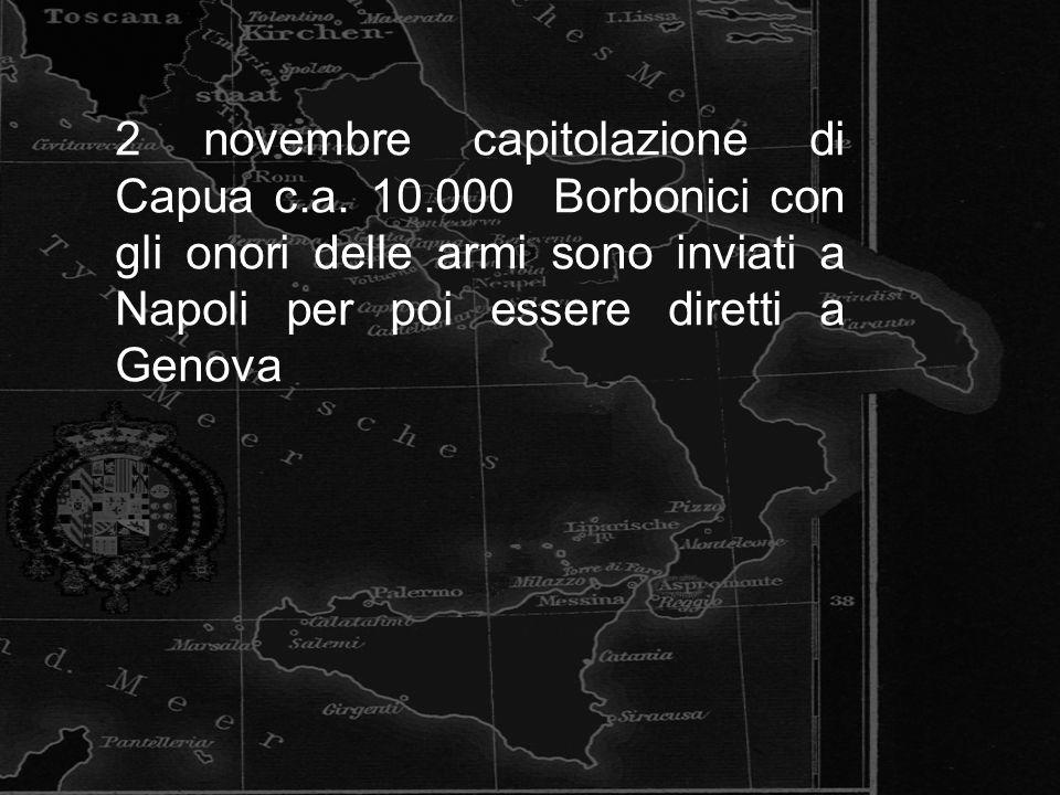 2 novembre capitolazione di Capua c. a. 10
