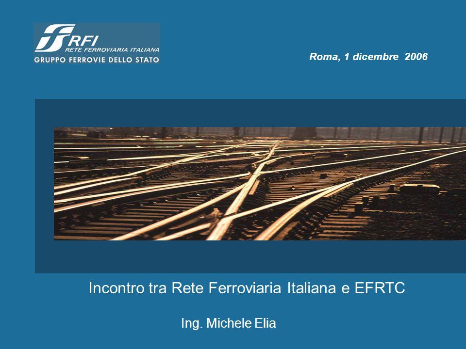 Incontro tra Rete Ferroviaria Italiana e EFRTC