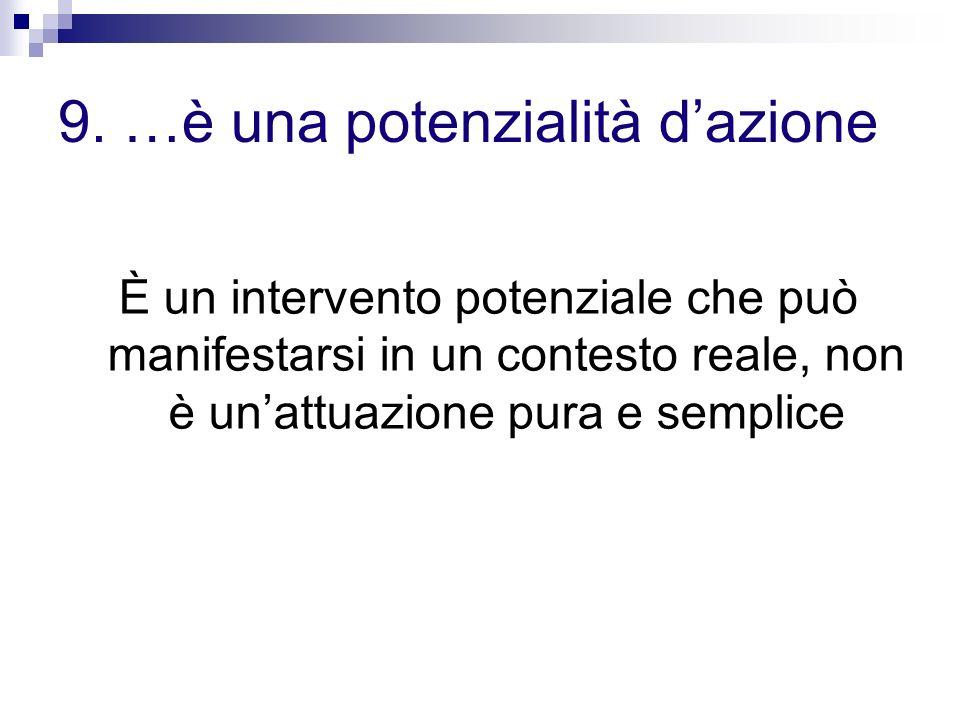 9. …è una potenzialità d'azione
