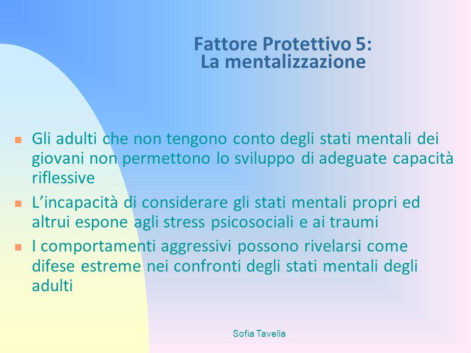 Fattore Protettivo 5: La mentalizzazione