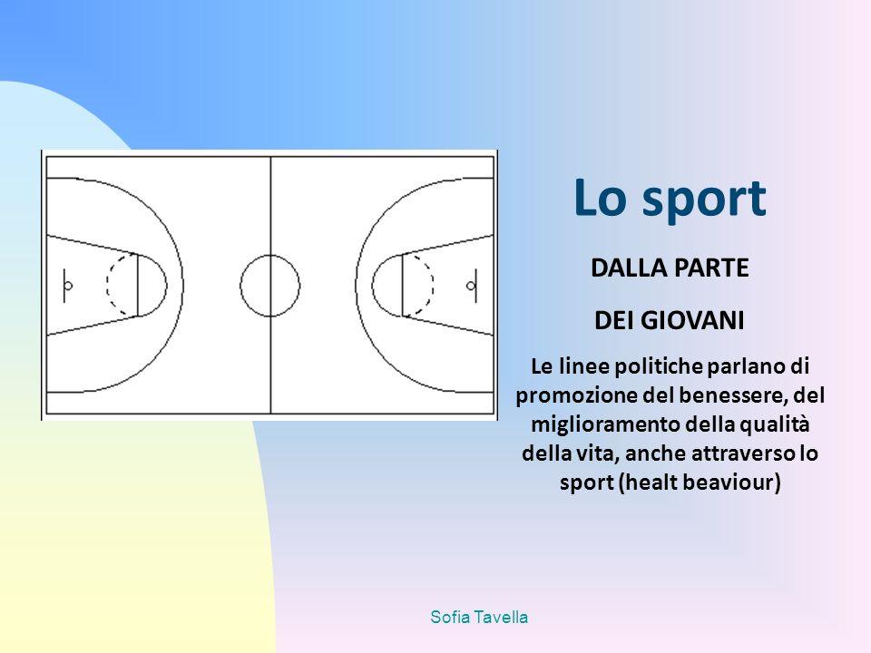 Lo sport DALLA PARTE DEI GIOVANI