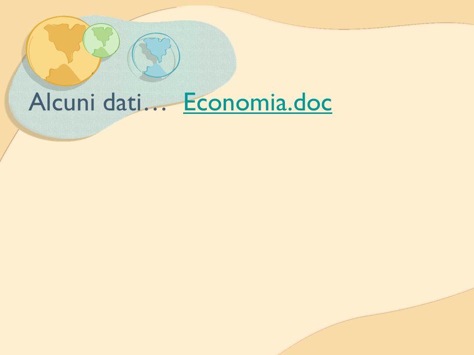 Alcuni dati… Economia.doc