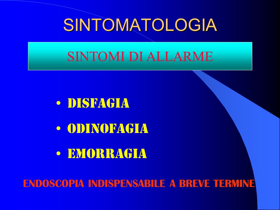 ENDOSCOPIA INDISPENSABILE A BREVE TERMINE