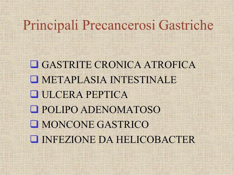 Principali Precancerosi Gastriche