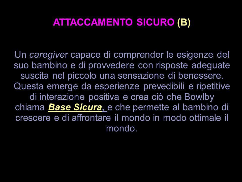 ATTACCAMENTO SICURO (B)
