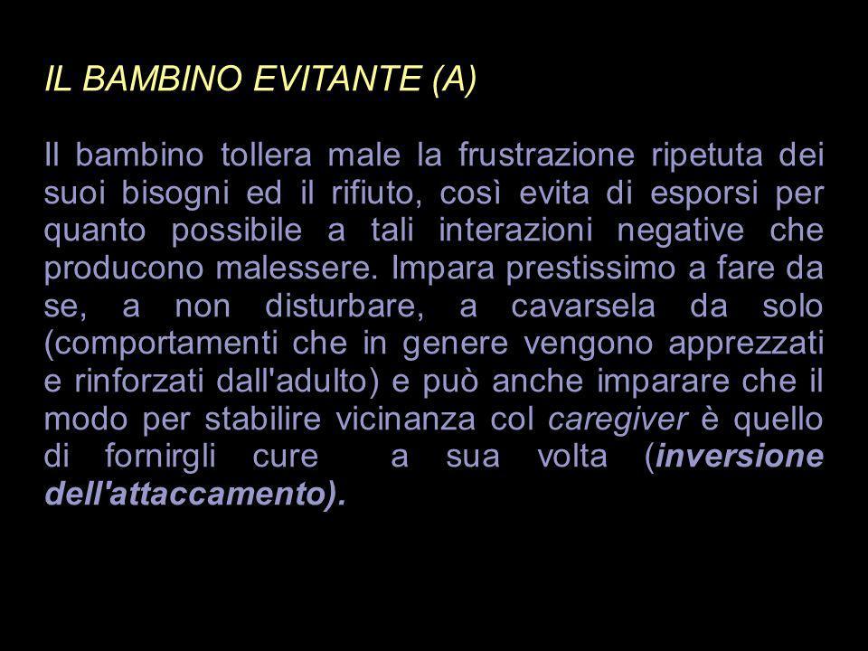 IL BAMBINO EVITANTE (A)