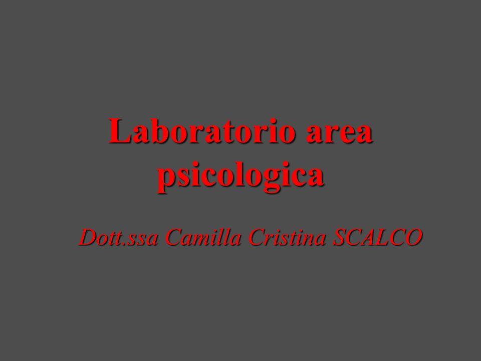 Laboratorio area psicologica