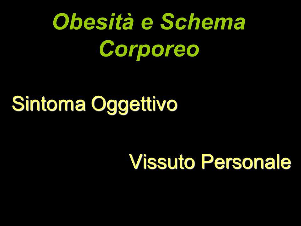 Obesità e Schema Corporeo