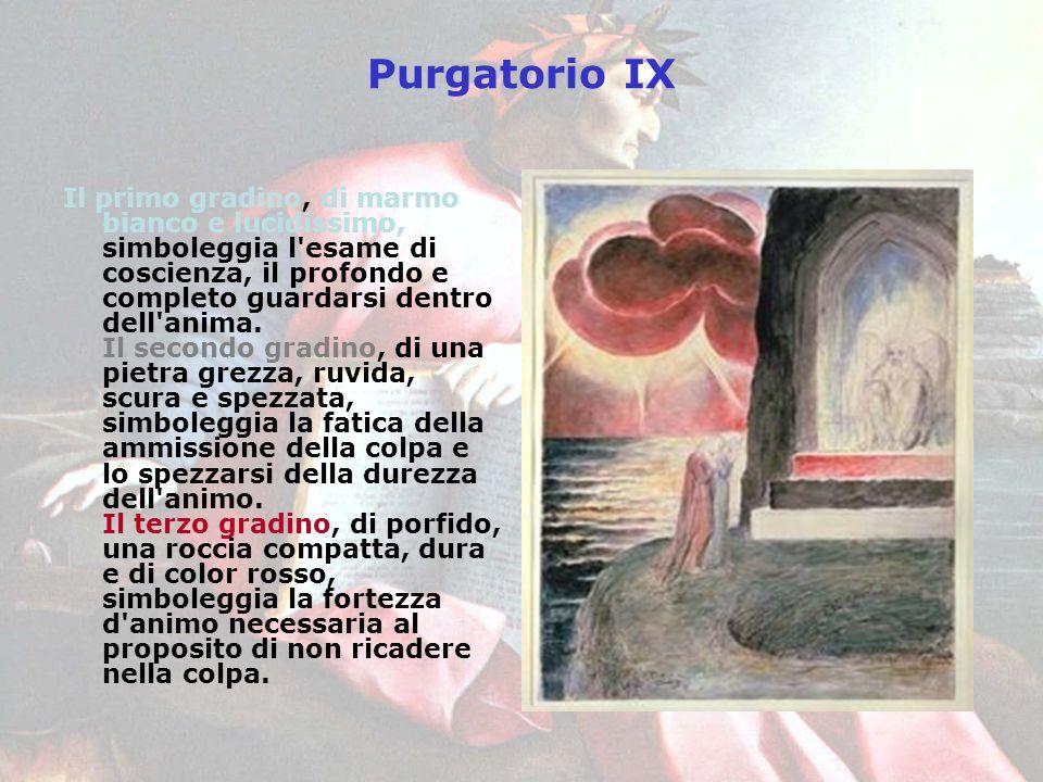 Purgatorio IX