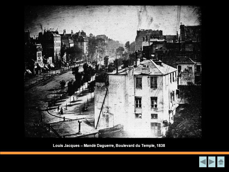 Louis Jacques – Mandè Daguerre, Boulevard du Temple, 1838
