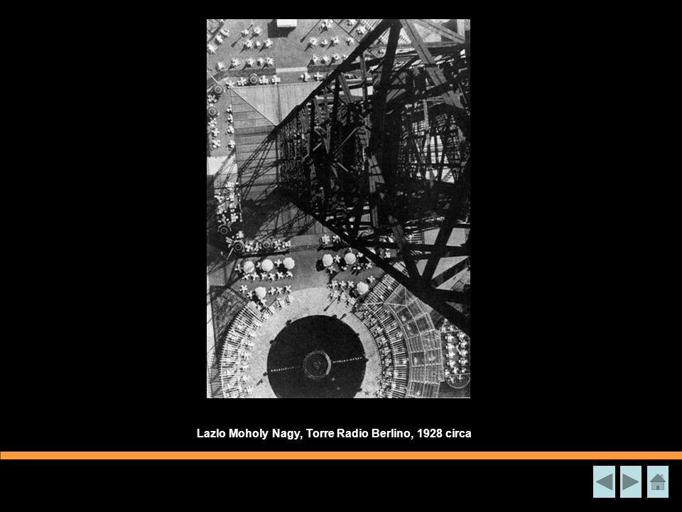 Lazlo Moholy Nagy, Torre Radio Berlino, 1928 circa
