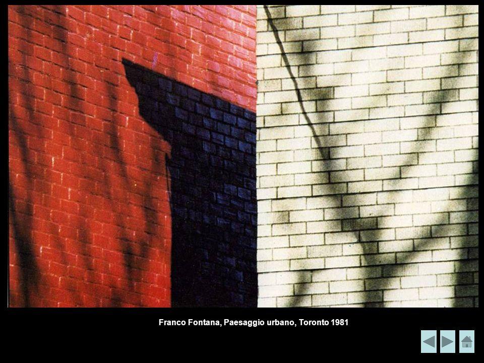Franco Fontana, Paesaggio urbano, Toronto 1981