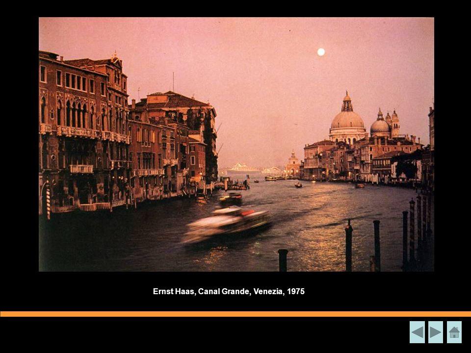 Ernst Haas, Canal Grande, Venezia, 1975