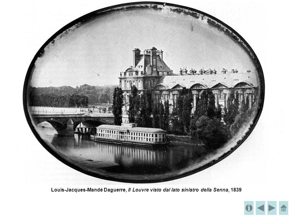 Louis-Jacques-Mandé Daguerre, Il Louvre visto dal lato sinistro della Senna, 1839