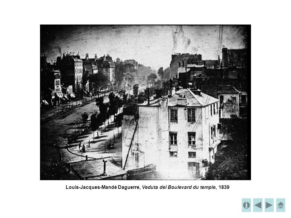 Louis-Jacques-Mandé Daguerre, Veduta del Boulevard du temple, 1839