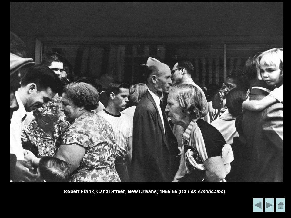 Robert Frank, Canal Street, New Orléans, 1955-56 (Da Les Américains)