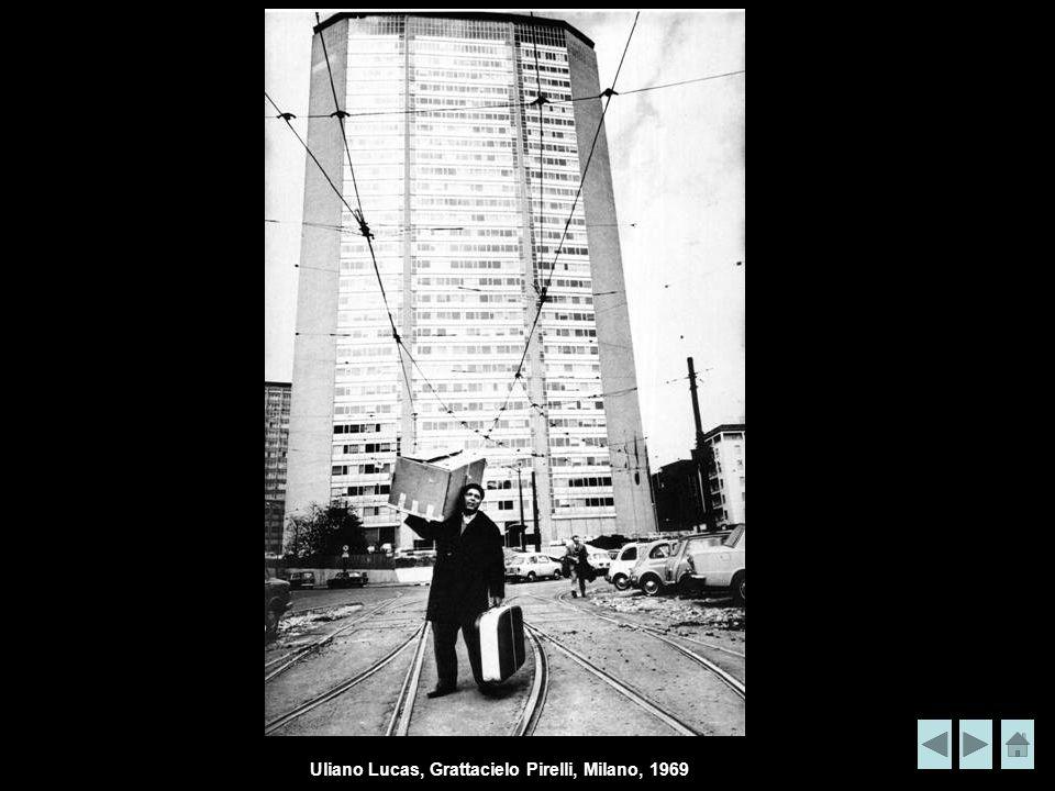 Uliano Lucas, Grattacielo Pirelli, Milano, 1969