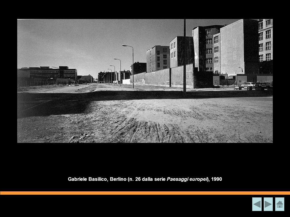 Gabriele Basilico, Berlino (n. 26 dalla serie Paesaggi europei), 1990