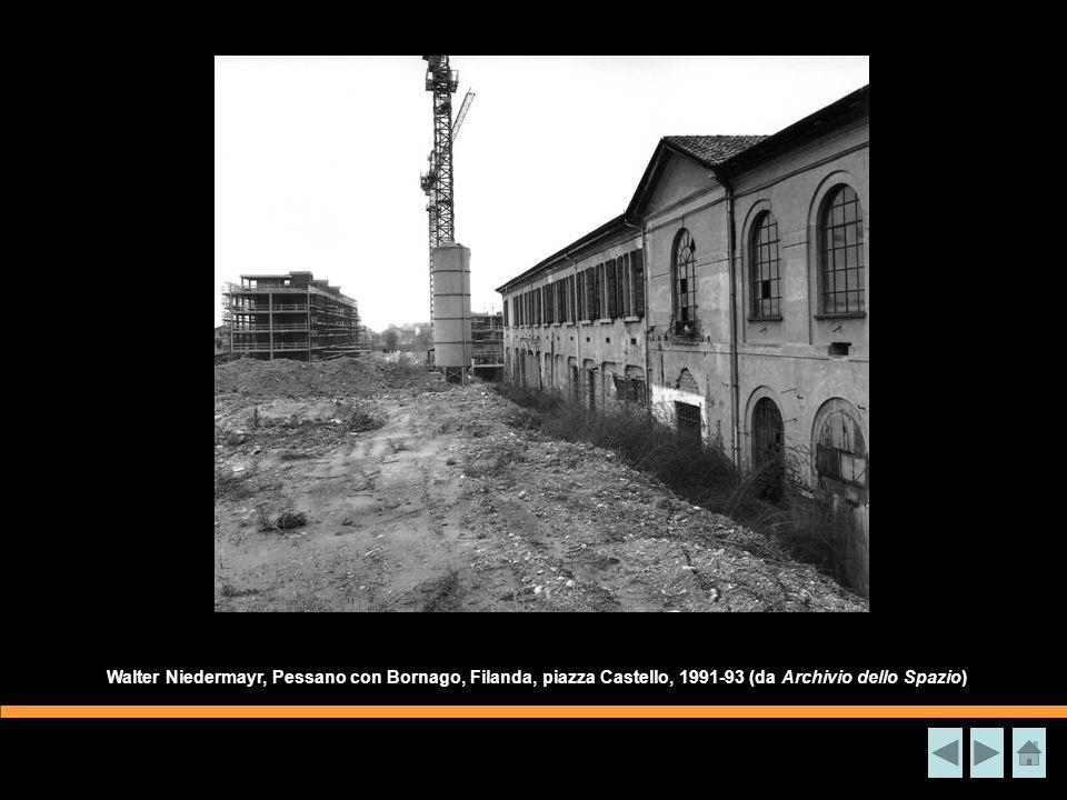 Walter Niedermayr, Pessano con Bornago, Filanda, piazza Castello, 1991-93 (da Archivio dello Spazio)