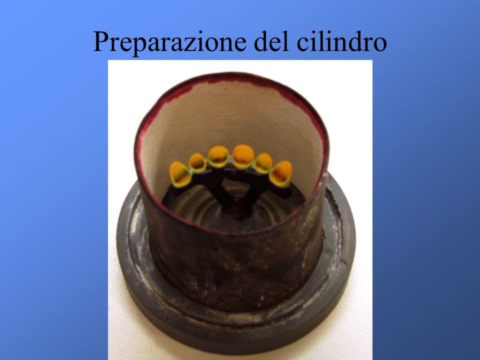 Preparazione del cilindro
