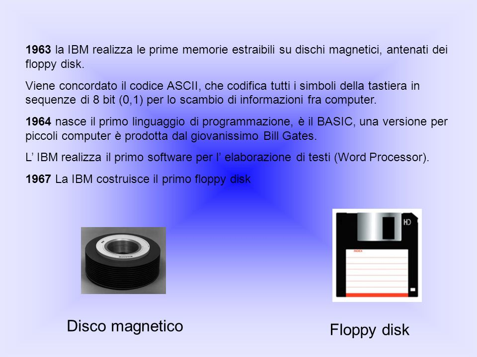 Disco magnetico Floppy disk