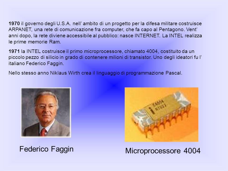 Federico Faggin Microprocessore 4004