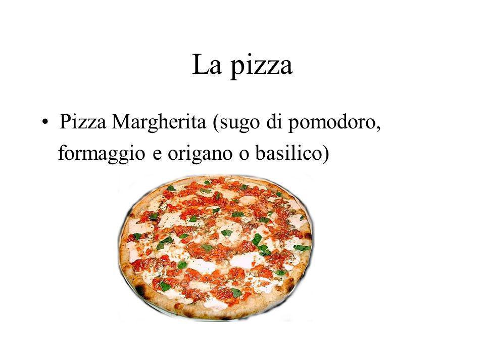 La pizza Pizza Margherita (sugo di pomodoro,