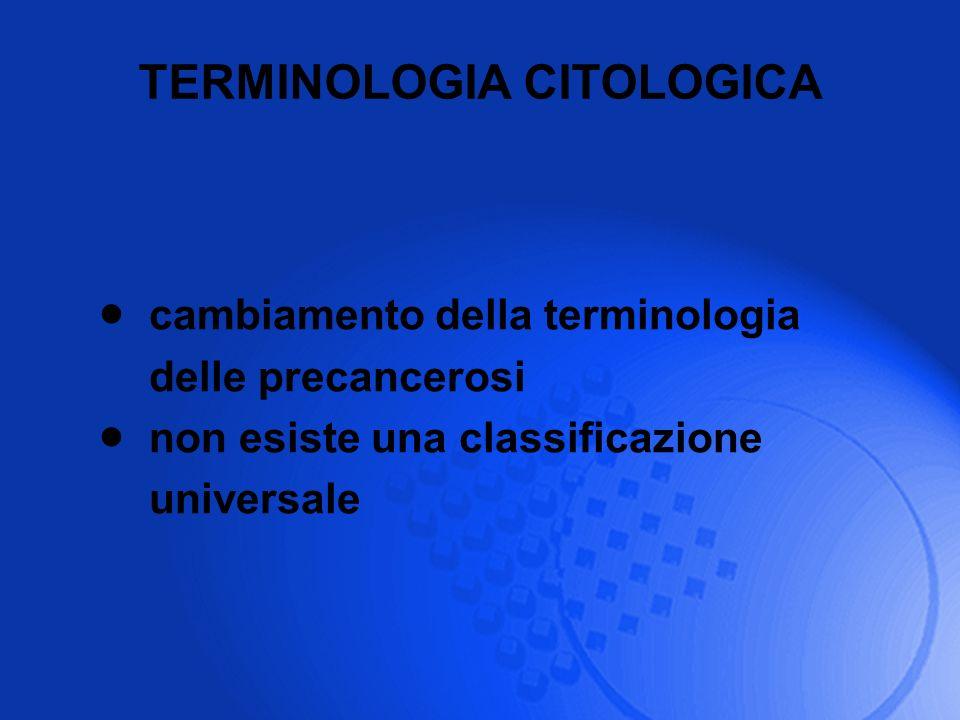 TERMINOLOGIA CITOLOGICA