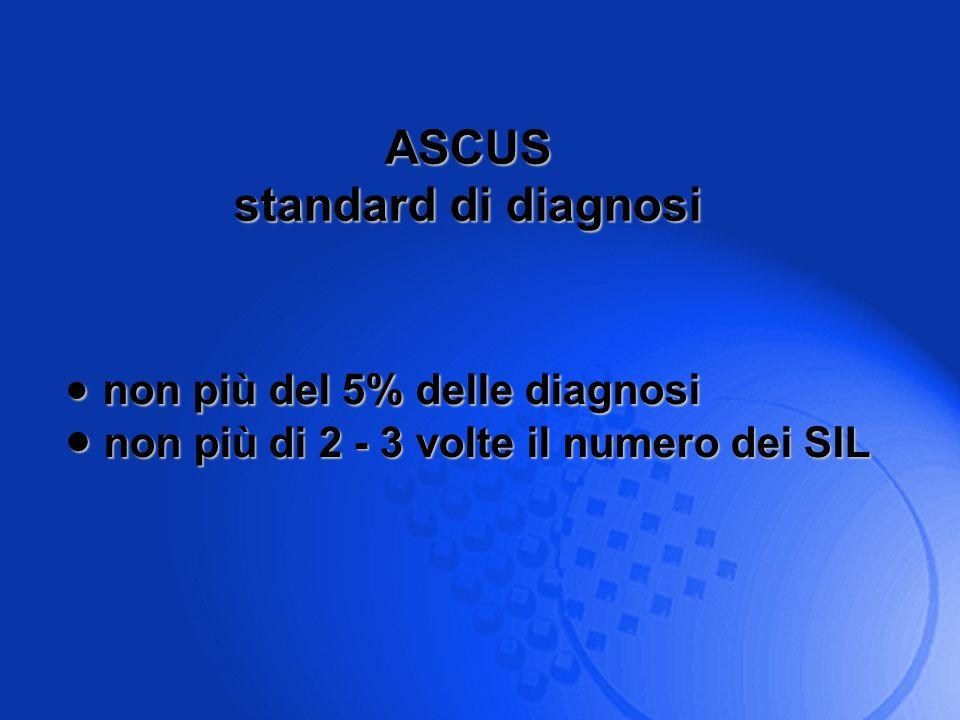 non più del 5% delle diagnosi