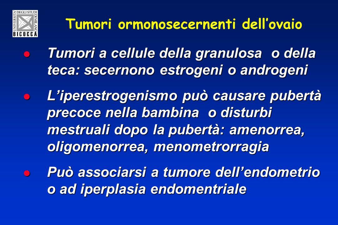 Tumori ormonosecernenti dell'ovaio