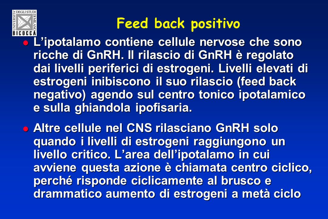 Feed back positivo