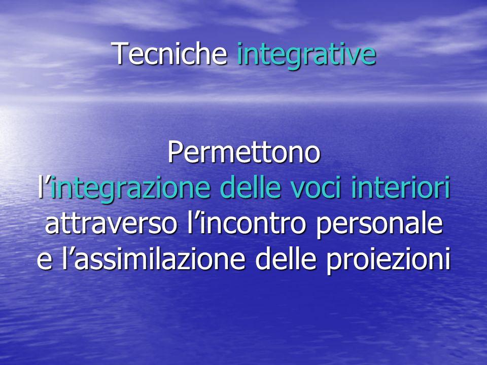 l'integrazione delle voci interiori attraverso l'incontro personale