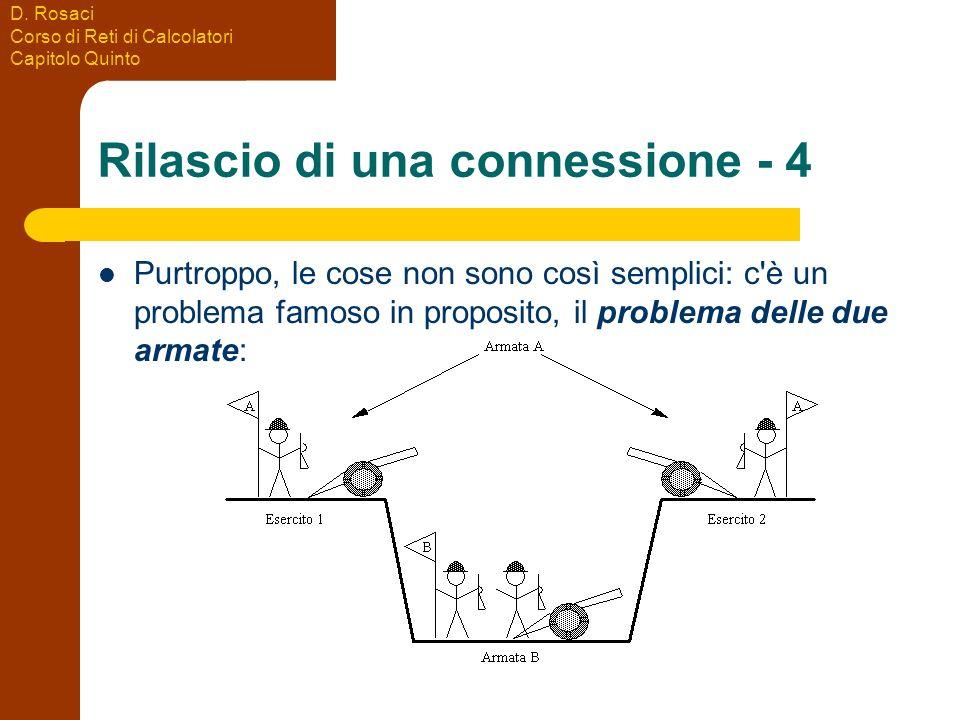 Rilascio di una connessione - 4