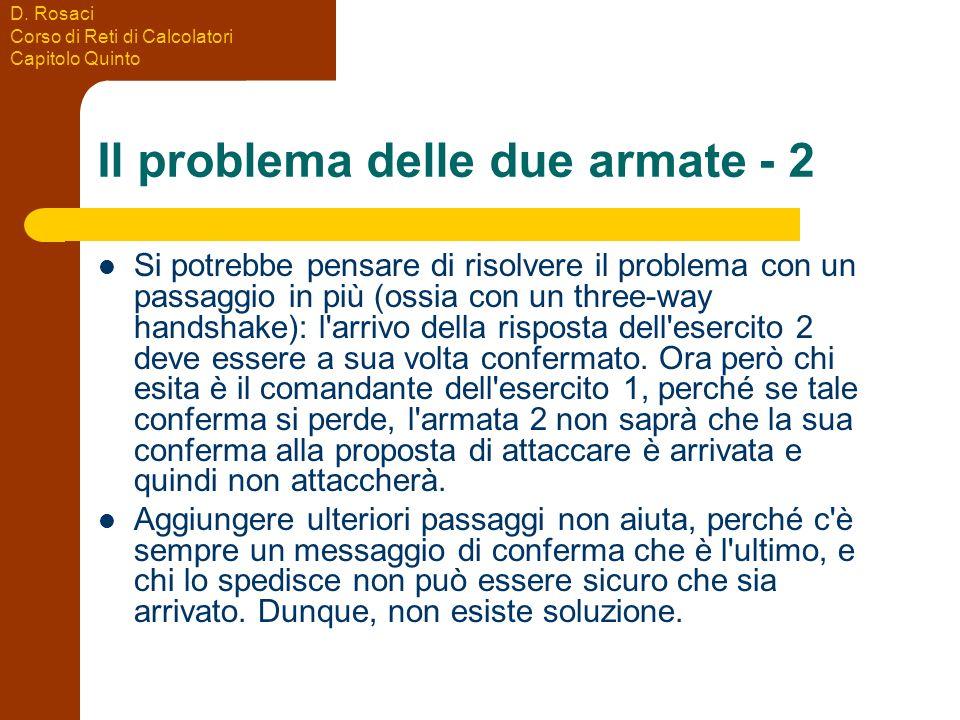 Il problema delle due armate - 2