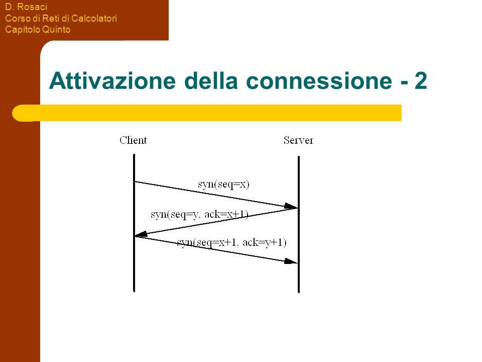 Attivazione della connessione - 2