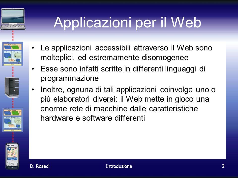 Applicazioni per il Web