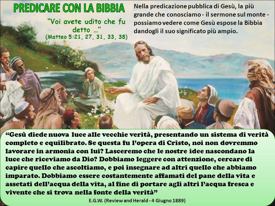 PREDICARE CON LA BIBBIA