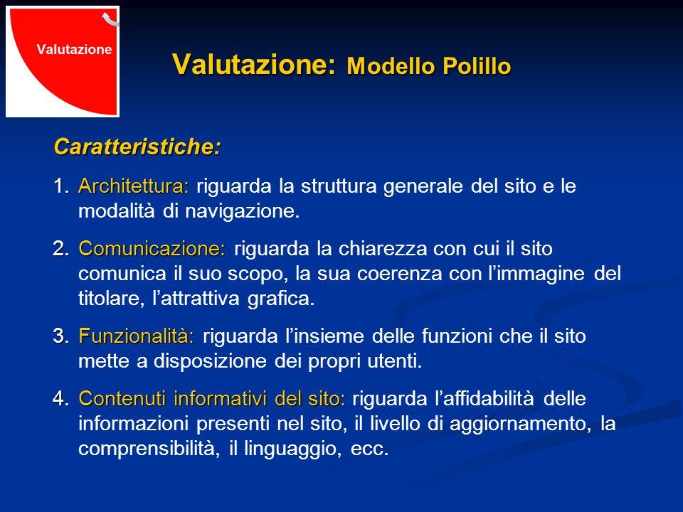 Valutazione: Modello Polillo