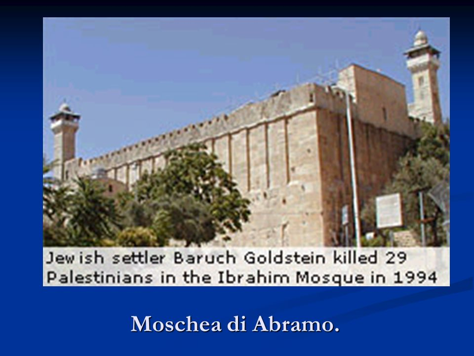 Moschea di Abramo.