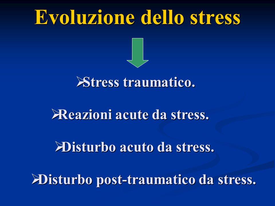 Evoluzione dello stress