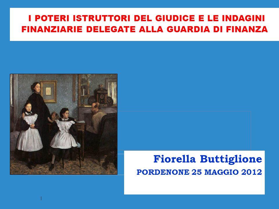 Fiorella Buttiglione PORDENONE 25 MAGGIO 2012