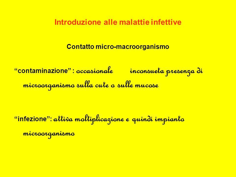 Introduzione alle malattie infettive