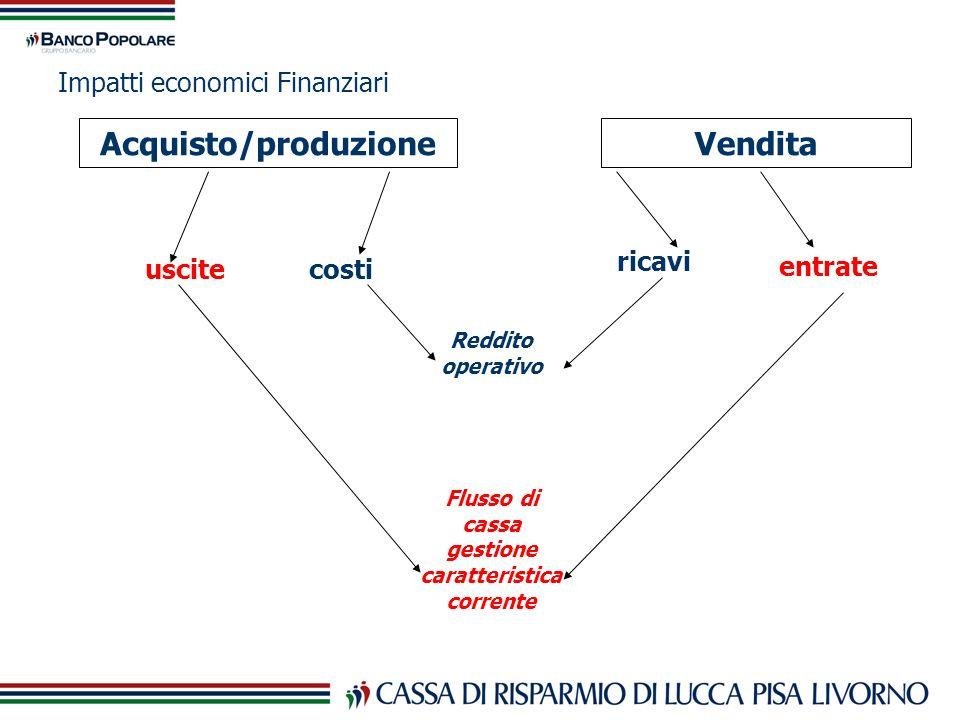 Impatti economici Finanziari