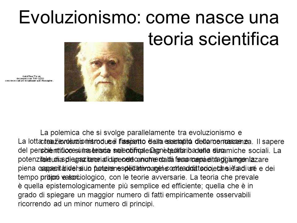 Evoluzionismo: come nasce una teoria scientifica