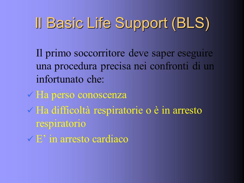 Il Basic Life Support (BLS)