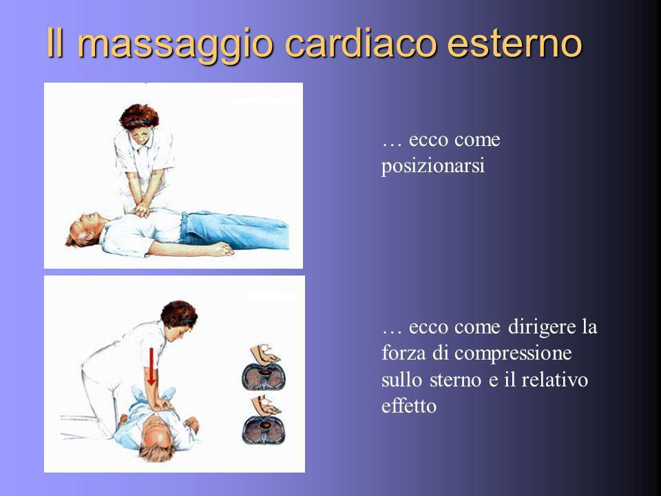 Il massaggio cardiaco esterno